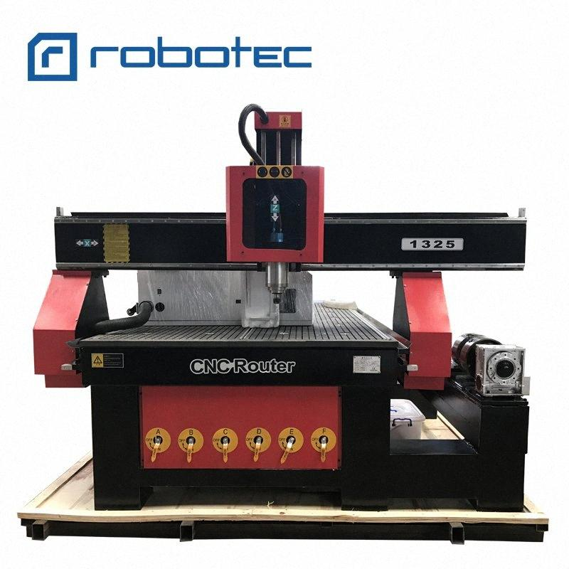 Hot sale cylinder engraving cnc router 1325 4 axis cnc router rotary engraving machiney/Furniture woodworking center 4d8q#