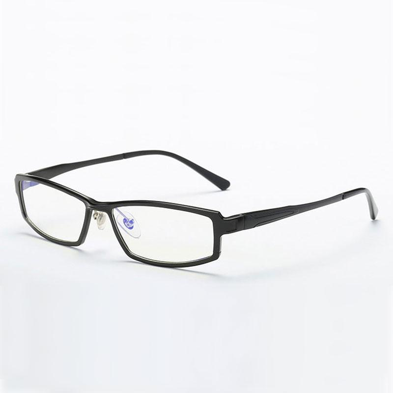 Legierung Rahmen Brillen rechteckig Brille Vollrand Brillen Männer und Frauen Stil optische Brillen Rahmen