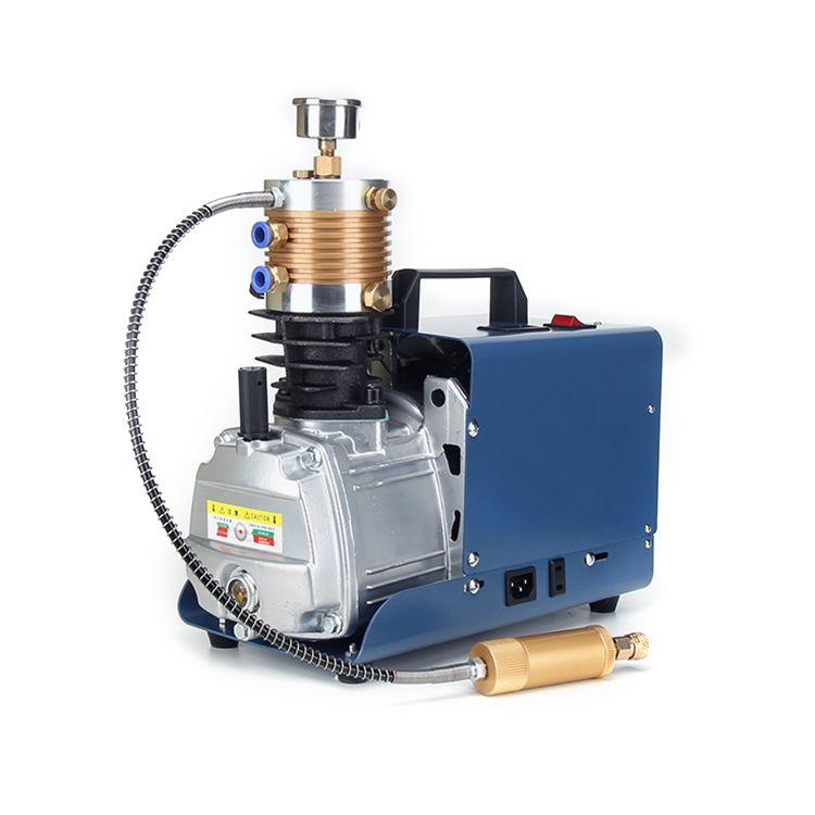 الجديد في المحمولة خزان الهواء 300bar الضغط العالي ضاغط PCP مضخة الهواء 4500 رطل ضاغط الهواء