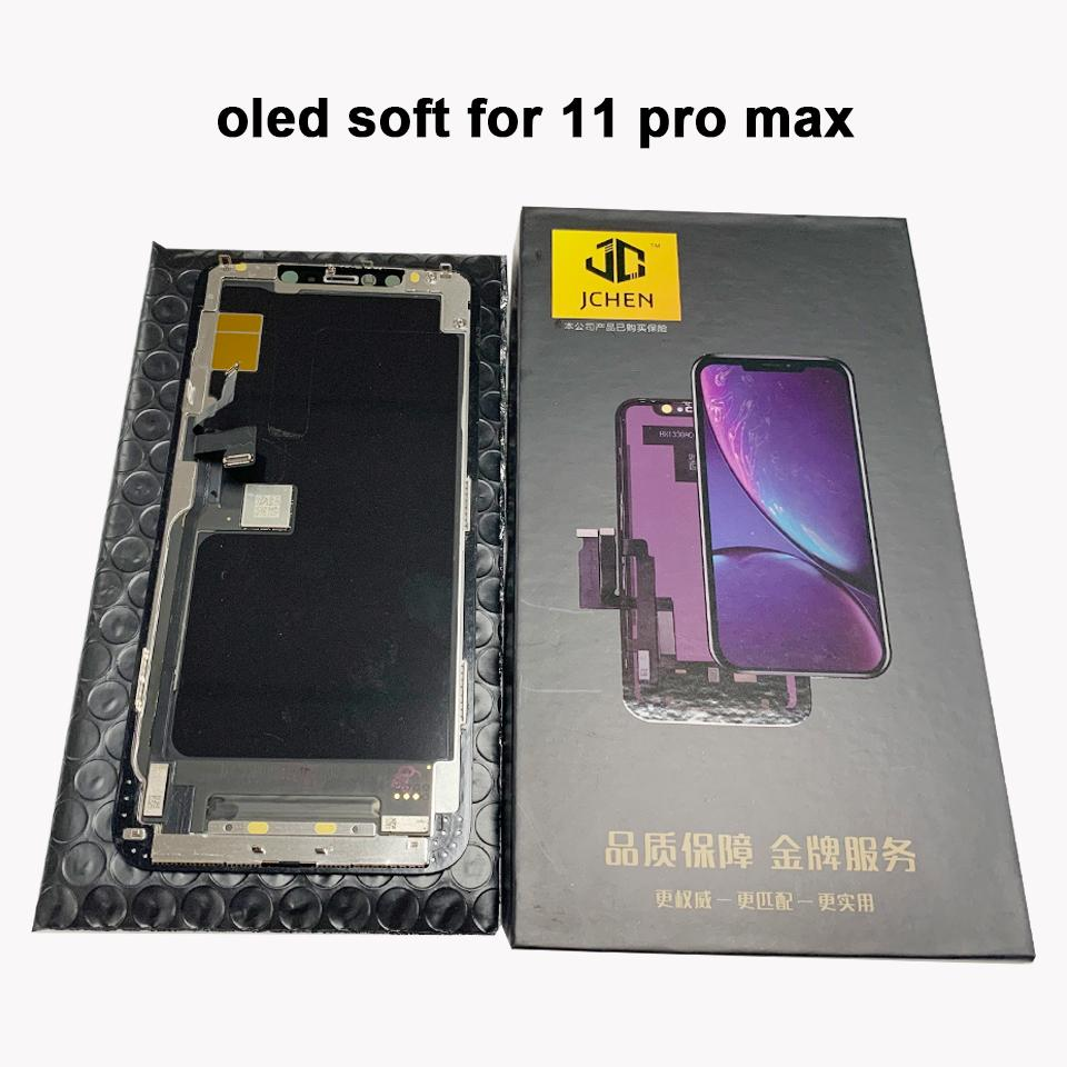 OEM original display For iPhone 11 Pro Max OLED Display Touch Digitizer Assembly Display With 3D Touch Replacement 100% Strictly TesTed
