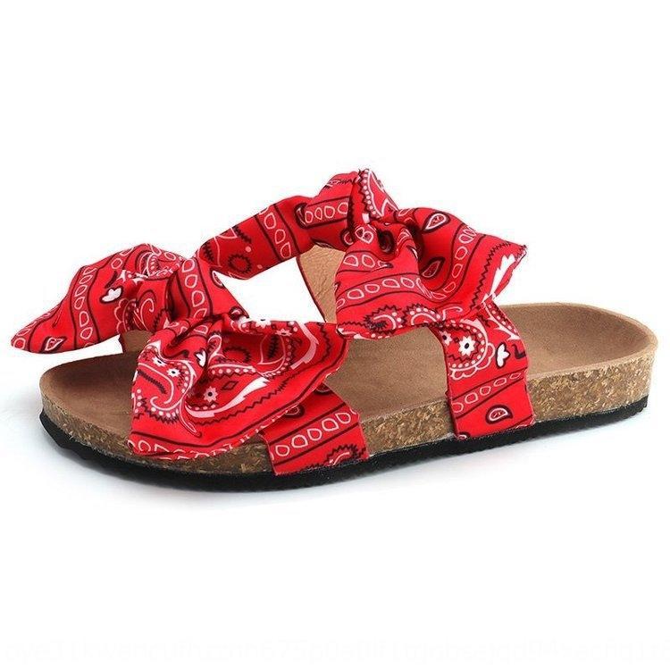 20 nuovi sandali estivi arco di spessore inferiore e grandi sandali dimensioni dei pesci e insetti pantofole Pantofole donna raso