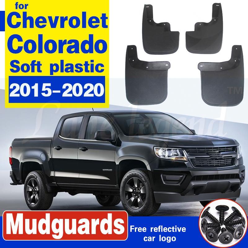 Chevrolet Colorado 2015-2020 Garde-boue de Bavettes Garde-boue Garde-boue Bavette Fender accessoires de voiture de __gVirt_NP_NN_NNPS<__ Styline auto