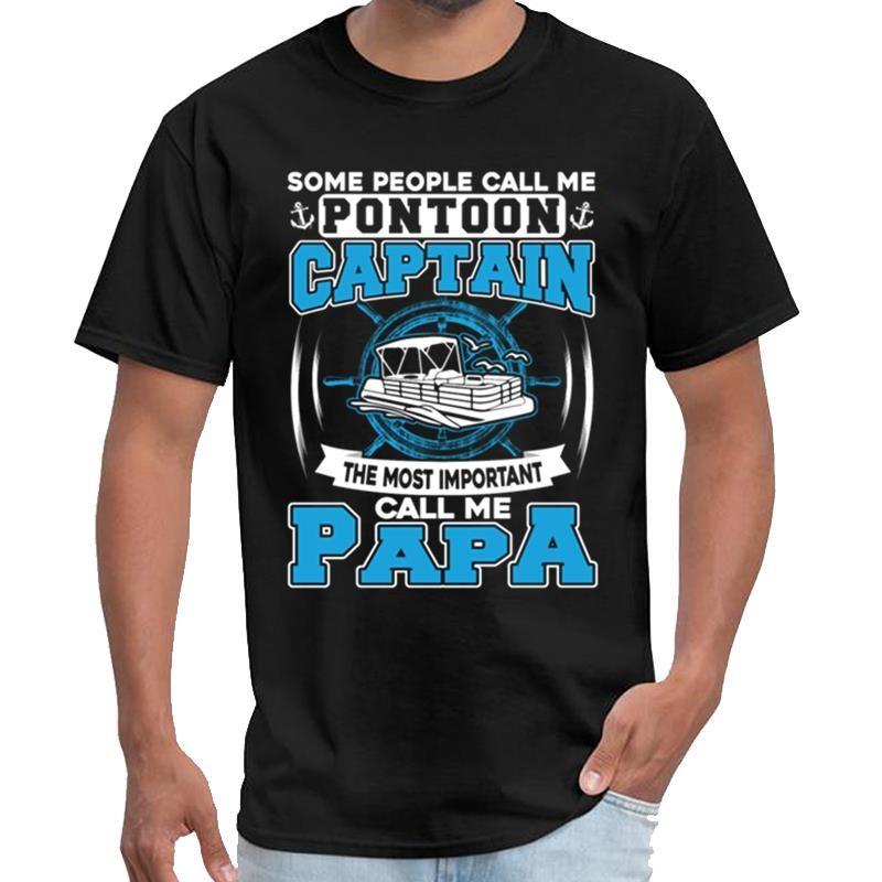 Imprimé Pontoon Capitaine Call Me distanciation sociale de papa femmes undertale tshirt T-shirt XXXL 4XL 5XL top tee
