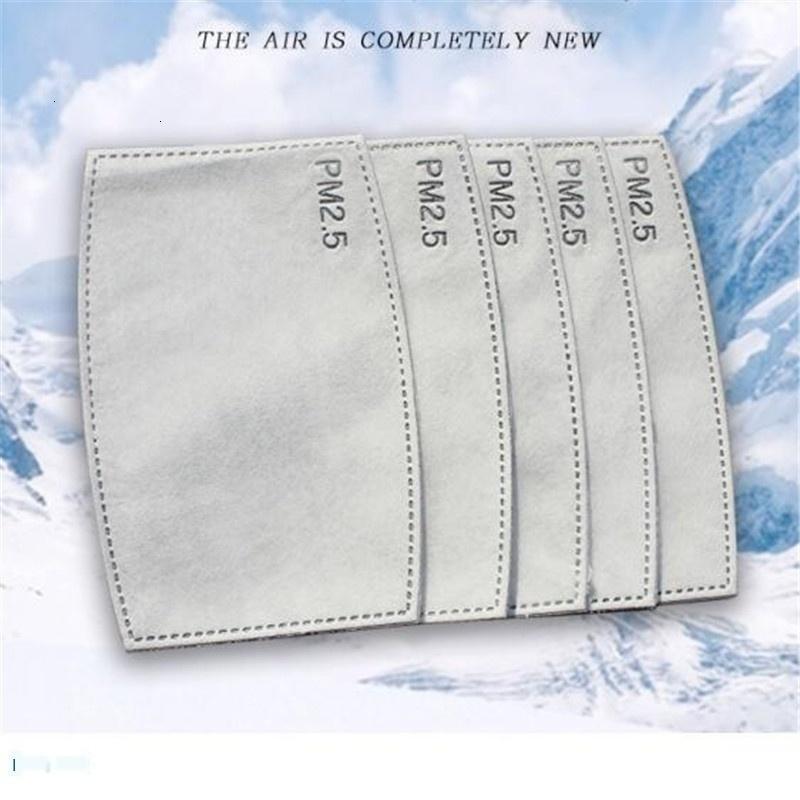 PM2,5 Vente chaude Filtres visage bouche Masque anti-poussière 2020 Gouttelettes Filtre Masques Replaceable Insérer réutilisable m