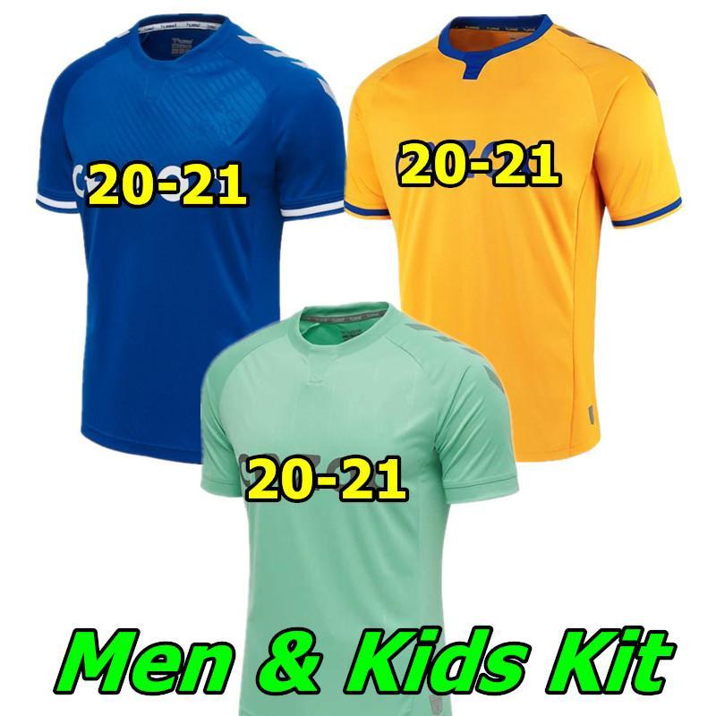 2020 Everton 20 21 Soccer Jerseys Richarlison Kean Sigurdsson Football Shirt Set 2020 2021 Tosun Walcott Thailand Everton Men Kids Kit Uniforms From Amy1003 1 12 58 Dhgate Com