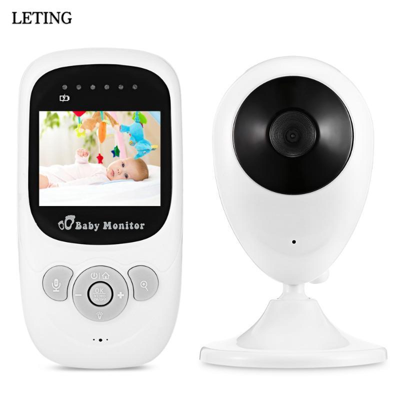 Baby Moniteurs Fimei SP880 Wireless Enfant Moniteur Moniteur Baby-sitter Vidéo Numérique Visionnage Vision Nocalisation de la nuit Radio LCD
