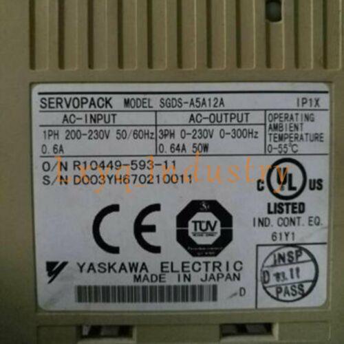 Yaskawa SGDS-A5A12A Servo-Treiber SGDS-A5A12A Brand New Qualitätssicherung