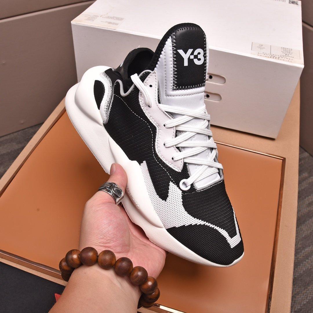 2020 V16 тенденции моды Mens Дизайнерская обувь Кожа Mesh Дышащие Удобная Открытый обувь на шнуровке Повседневный Hiker обувь Мужские кроссовки