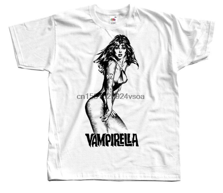 Vampirella Jim Wynorski Poster T-shirt dos homens do filme de 1996