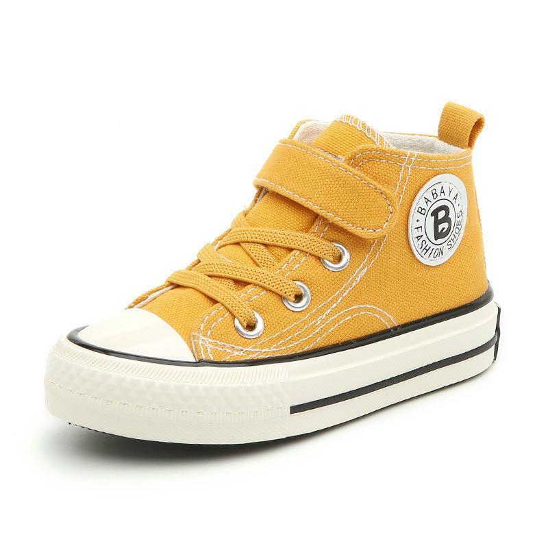 어린이 캔버스 여자 스니커즈 높은 남자 겨울 신발 Breathble 2020 가을 겨울 패션 키즈 캐주얼 신발 유아 부츠 CX200825 신발