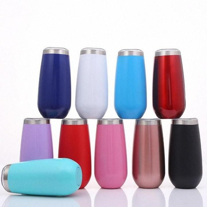 Garrafa de vácuo de aço inoxidável Cup Moda Pure Color Doubler parede Calor preservação da água Coke cerveja caneca DHA293 SqGm #
