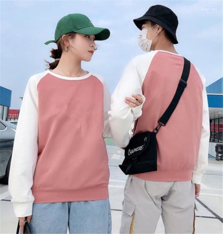 Womens Sweatshirts Fashion Spring Autumn Couples Clothing Panelled Mens Womens Designer Sweatshirts Casual Long Sleeve Mens