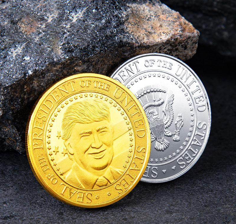45 ° Untied Elezione Trump presidente Craft Collection 2020 Materiali Distintivo commemorativa Uniti Coin Donald Of Metal pp2006 VYdCf