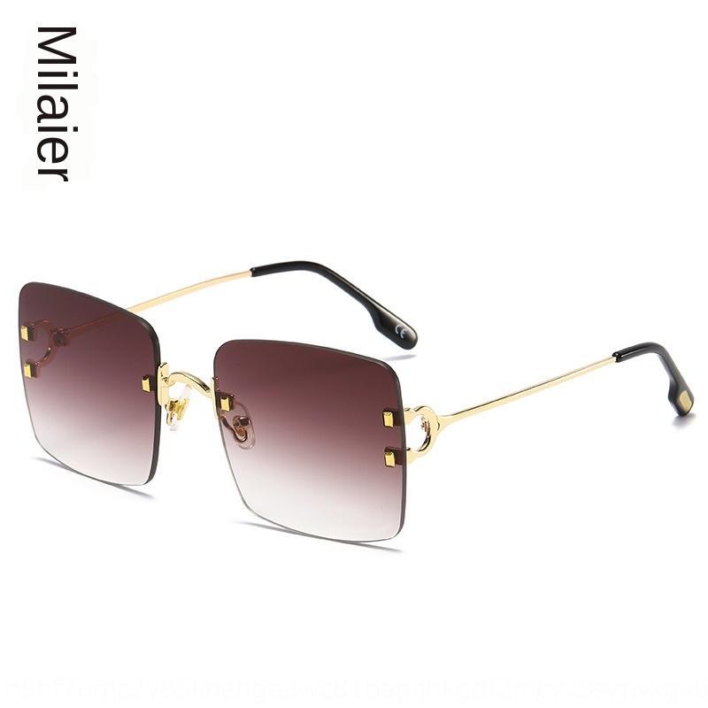 50220 trendy kadın moda kadın yüzü örten sokak fotoğrafçılığı vuGof güneş gözlüğü güneş gözlüğü kırparak kare, çerçevesiz güneş gözlüğü