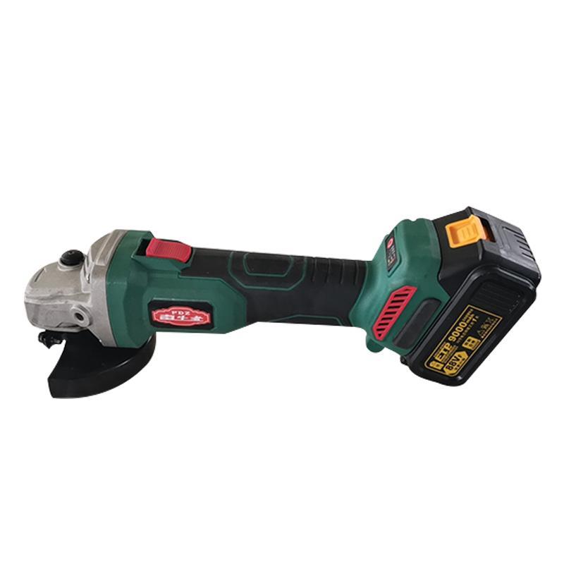 Wiederaufladbare Brushless Elektro Akku-Winkelschleifer Hand Haushalt Lithiumbatterie Polieren Schneiden Schleifen nach Hause Schleifwerkzeug
