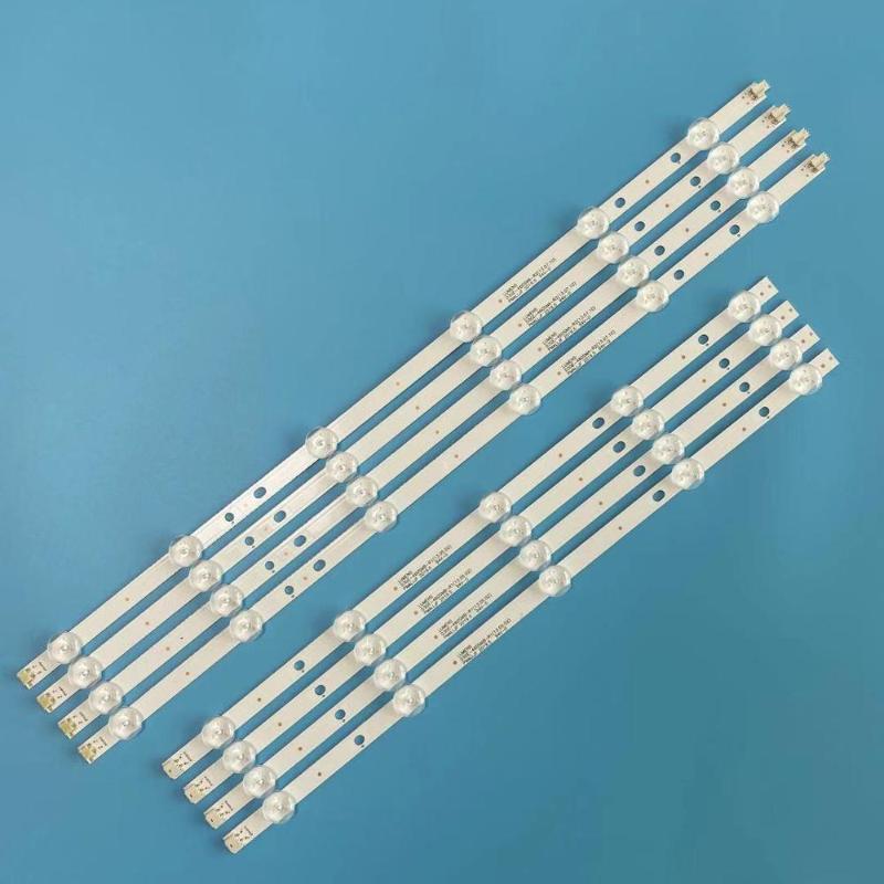 Новые 8 шт / комплект светодиодной подсветки для UE46H5373 UE46H6203 UN46FH6030F D3GE-460SMA-R2 D3GE-460SMB-R1 2013SVS46 3228N1