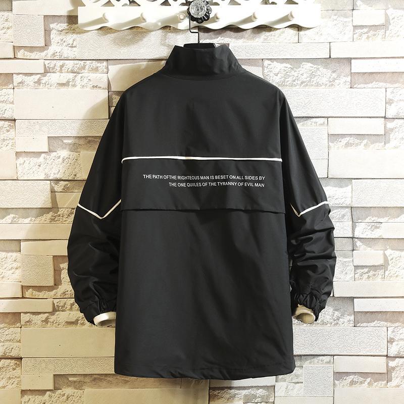 Septhydrogen ropa de trabajo de gran tamaño invierno de la chaqueta de los hombres de la chaqueta de piloto más grande el tamaño de béisbol marea uniforme prendas de vestir exteriores floja