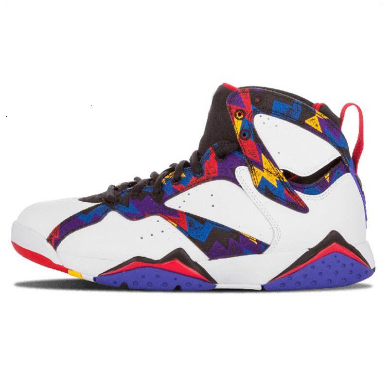 Reflexivo Tinker Alternate Jumpman 7 3m 7s Shoes Mens Basketball Patta Raptors Olímpico Gmp franceses Blue Ray Allen Hare Retres Sports