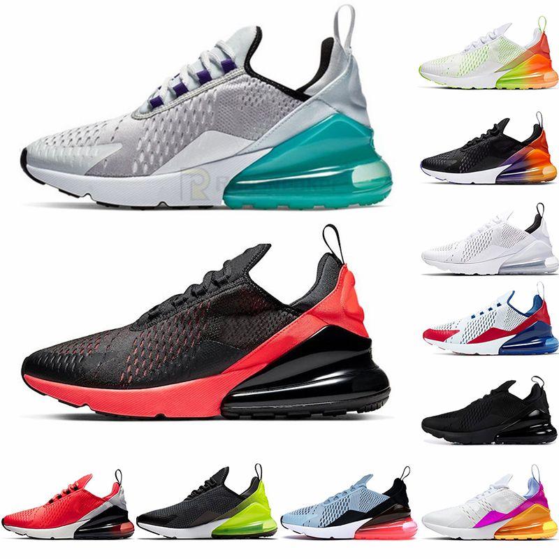 Nike Air Max Vapormax 2021 جديد وسادة 270 رياضية أحذية رياضية رجالي الاحذية CNY قوس قزح كعب المدرب نجم الطريق البلاتين اليشم ولدت المرأة 27C حذاء رياضة حجم 36-45