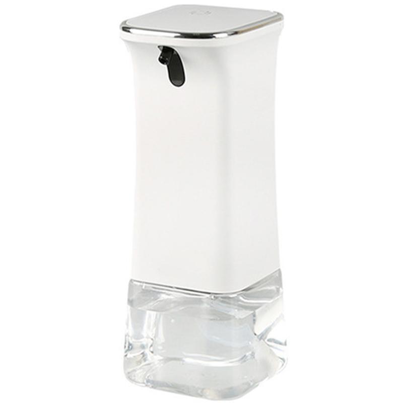 Automatique Moussant Distributeur de savon, mousse Pompe Pressless électronique, No Press Distributeur de mousse avec capteur infrarouge, savon clair Conta