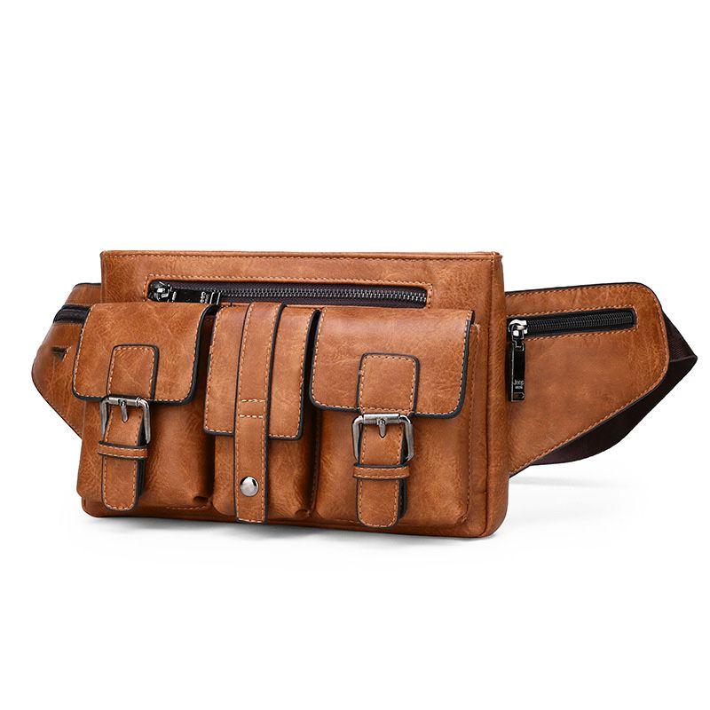 متعدد الوظائف في الهواء الطلق الخصر حقيبة مضادة للماء الكتف نايلون واحدة على ظهره حقيبة اليد الصدر التخييم في الهواء الطلق حقيبة السفر
