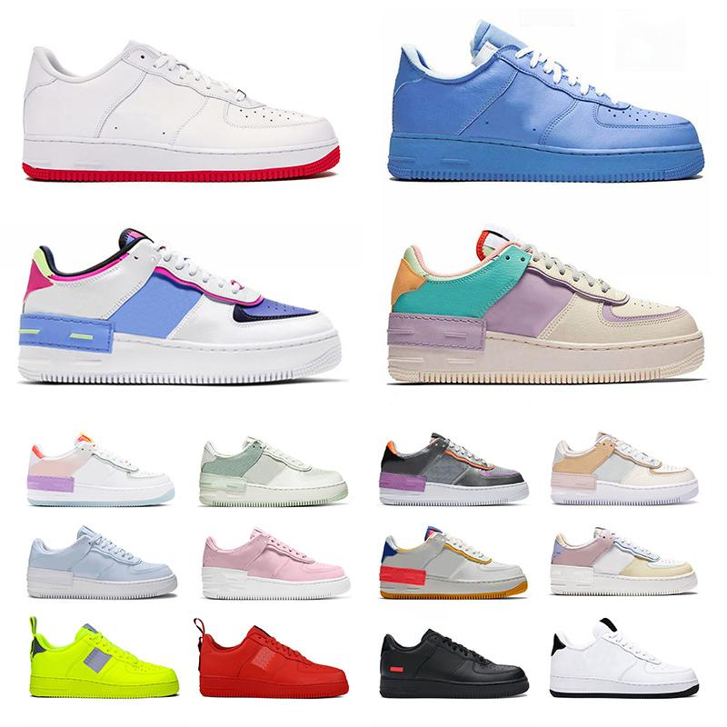 Schuhe nike air force 1 off white mca forces one af1 just do it Laufschuhe airforce shadow AF Authentic Sports Sneakers Flat Low für MOMA Black Outdoors Turnschuhe für Herren