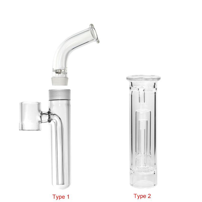 Kit de filtro de água de tubulação de bolha de vidro 19mm para Kanboro Ecube Master Giant G9 Henaail Plus Tc Port 510 Nail Subdab Dab Rig Pen