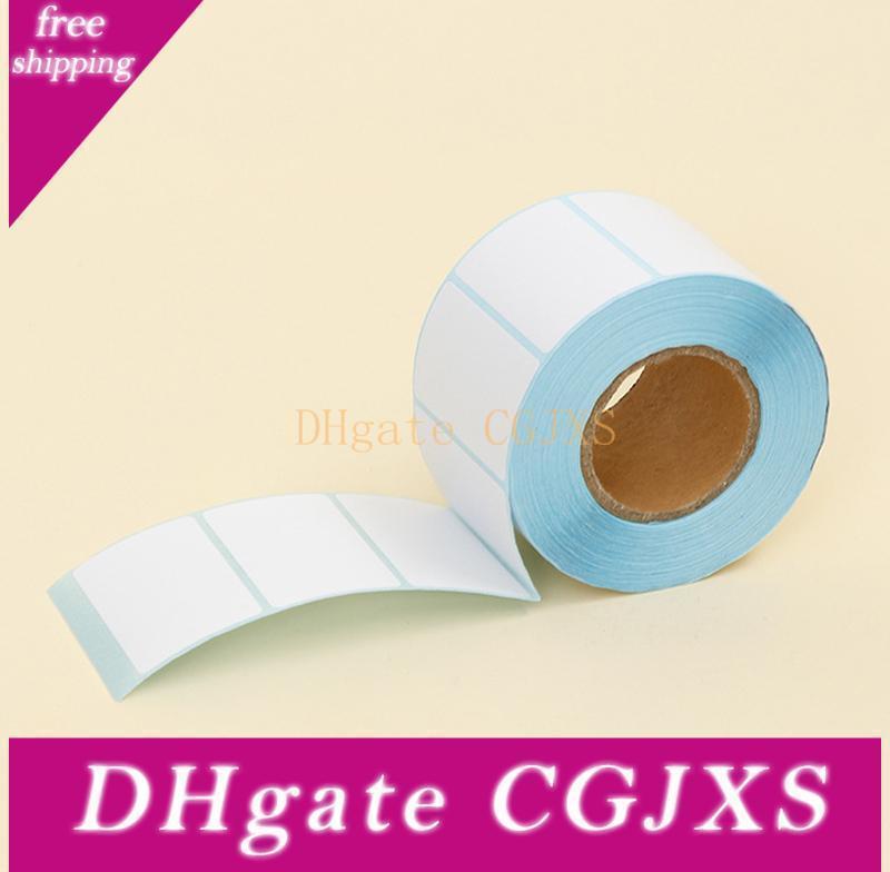 Adhesive Thermal-Aufkleber Papier Blank Label Direktdruck Größe 50x30mm 800pcs / Set