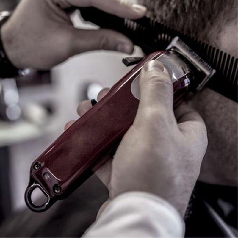 Nouveau 8148 magie rouge électrique Rasoirs hommes sans fil adulte Rasoirs professionnel Tondeuse cheveux coiffeur local d'angle rasoir Hairdresse