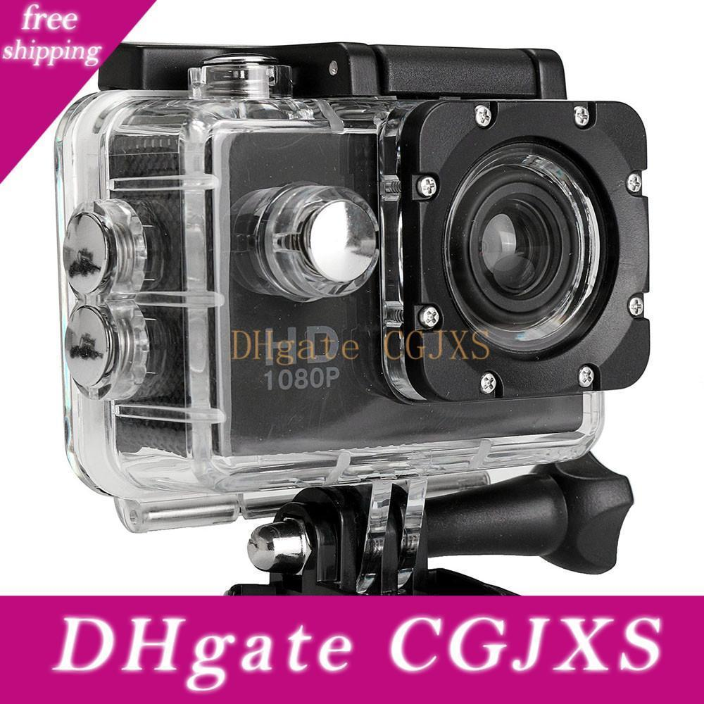 Hot Selling Action Camera Hd 1080p Digital Sports Dving Photo Cam Underwater Waterproof Cameras 30m Camcord 2 .0 Inch Mini Video Cam