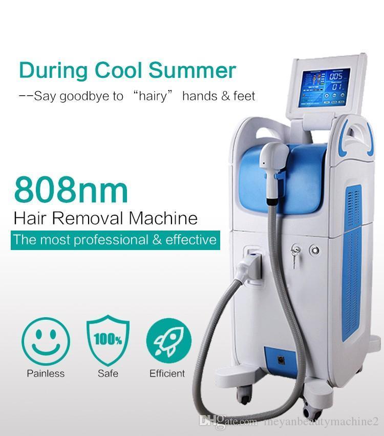 машина лазерного удаления волос диода охлаждения точки 808nm Pain Free Постоянной для волос удаления элемента красоты