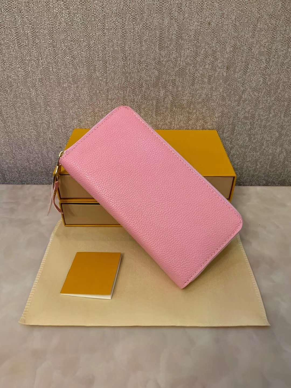 Zipper Long Purse Designer Women PU Clutch Wallets 3 Colours Wholesale Card Holders