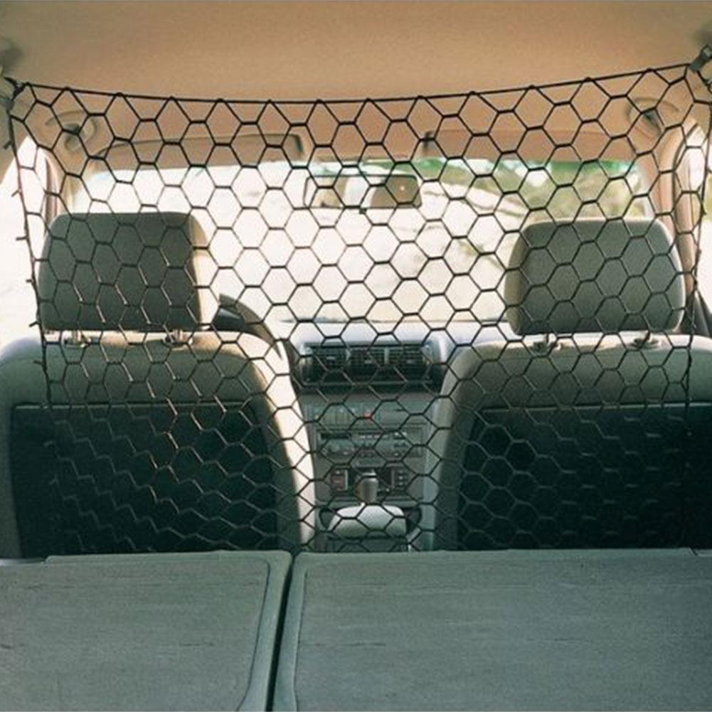 Valla universal de viaje para mascotas Barrera maletero del coche de malla de seguridad Accesorios Guardia