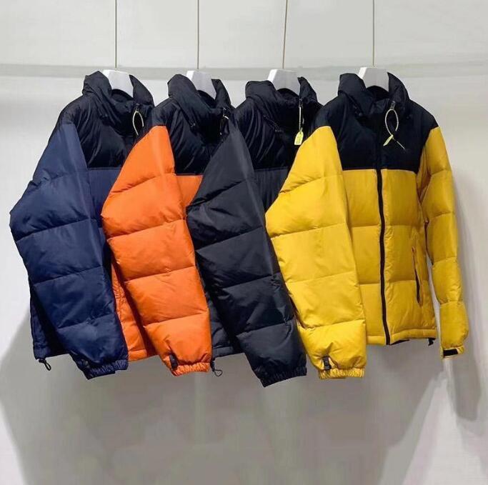 Hommes Down Down Mens Hiver Jacket Parkas Canard Blanc Down Manteaux Bleu Blue Orange Jaune Haute Qualité Hommes Down Jacket Mens M-3XL