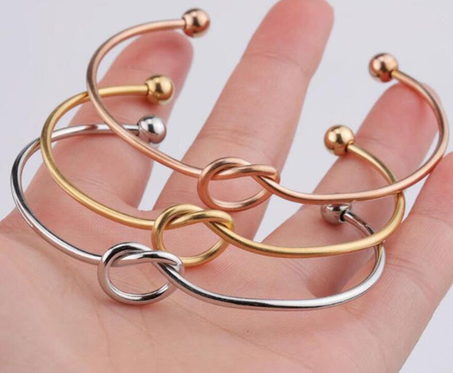 Европа и ювелирных изделия простого ветер США браслет персонализированного узел браслет галстук браслет для женщин девочек дешевого оптового DHL
