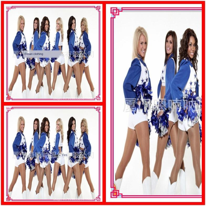 Halloween Spiele Fußballbaby Jubel jubeln Nachtclub DS führenden Tanz-Tanz-Kostüm Kleidung Kleidung Cheerleading