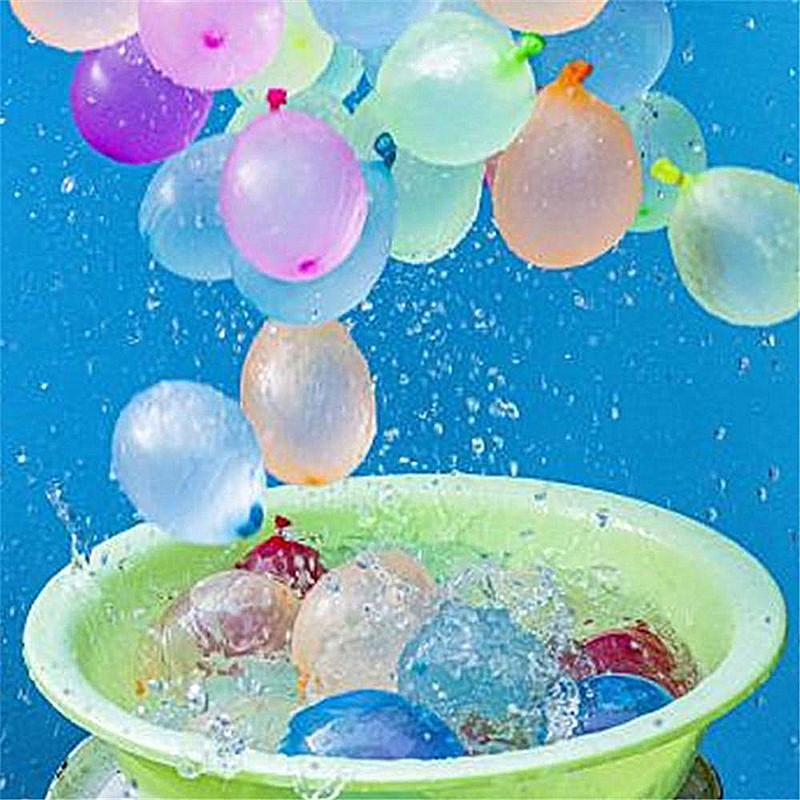 Lustige Wasser Luftballons Spielzeug Magie Sommer-Strand-Party im Freien Filling Wasser-Ballon-Bomben-Spielzeug für Kinder Erwachsene Kinder
