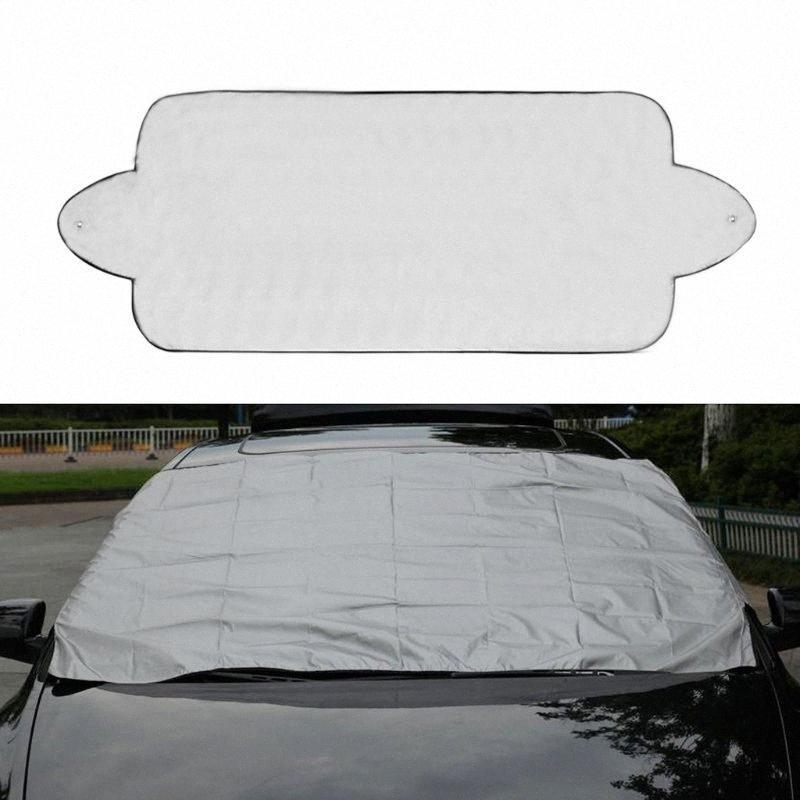 Nouveau NoEnName Null empêcher la neige de glace soleil ombre poussière gel congélation Pare-brise de voiture Cover Protector nYw2 #
