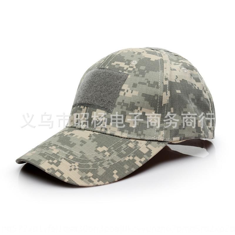 Kanca ve döngü kamuflaj fanlar açık beyzbol güneş şapkası beyzbol Python'un güneşlik kap özel kuvvetler kubbe kapağı