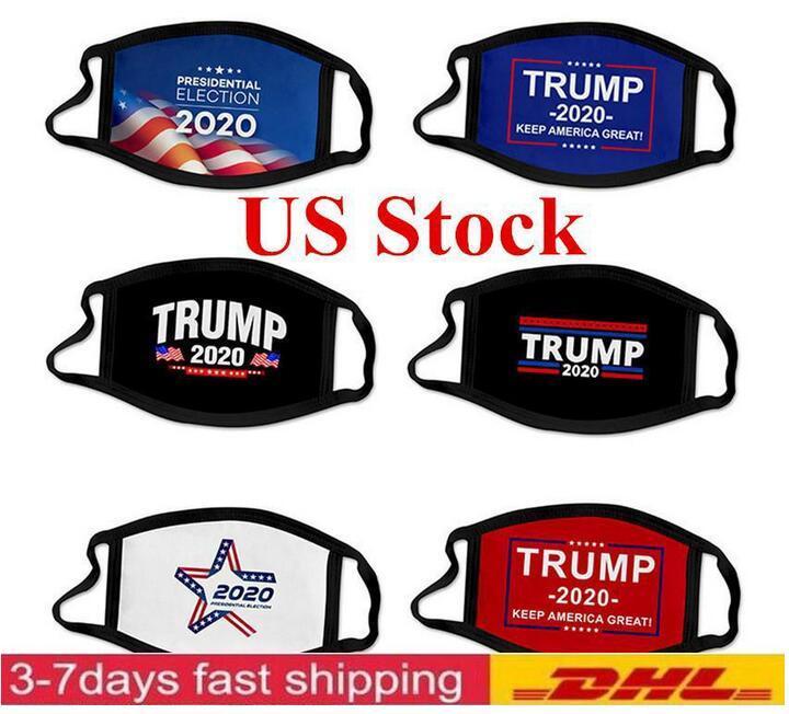 미국 주식! 트럼프 당사자는 트럼프 기차 야외 사이클링 디자이너 마스크 안티 먼지 오염 입 커버에 탑승 2,020 선거 모두 마스크