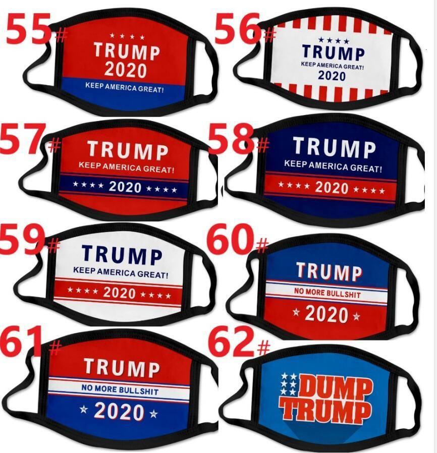68 Types 3d Printing Trump 2020 Mask Windproof Cotton Mouth Masks Adult Children American Election United States Mask Designer Masks Dhl 7