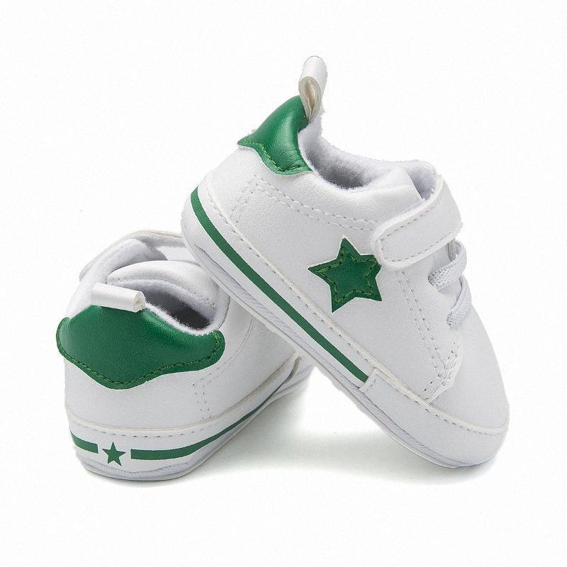 La primavera y el otoño de los zapatos de bebé estrella de suela de goma antideslizante deportes ocasionales de interior niño zapatos yboS #