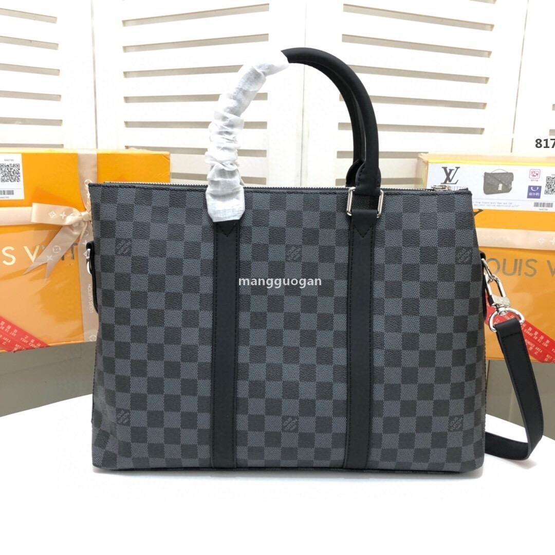 lüksTasarımcı M328 2020ss Bagaj Çanta Designer Erkekler Çanta Lüks Kadınlar Marka İş Çanta Seyahat Omuz Çantası Büyük