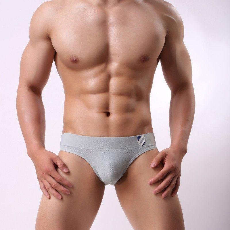Мужчины Белье Марка Храброго Person мужских Трусы высокого качество мужчины дышащий Удобные трусы хлопок нижнее белье