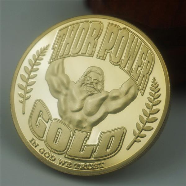 el poder caliente Raytheon moneda conmemorativa, moneda chapada en oro, moneda espíritu americano, moneda creencia de poder auto-disciplina