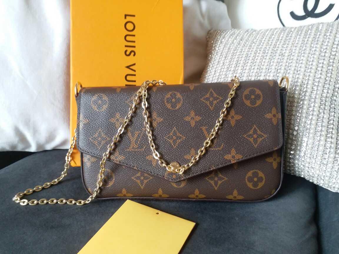 Bolsas de hombro, carteras, Mujeres de la manera más nuevo diseñador de alta calidad bolso de la marca Tamaño 21/11/2 cm Modelo 61276