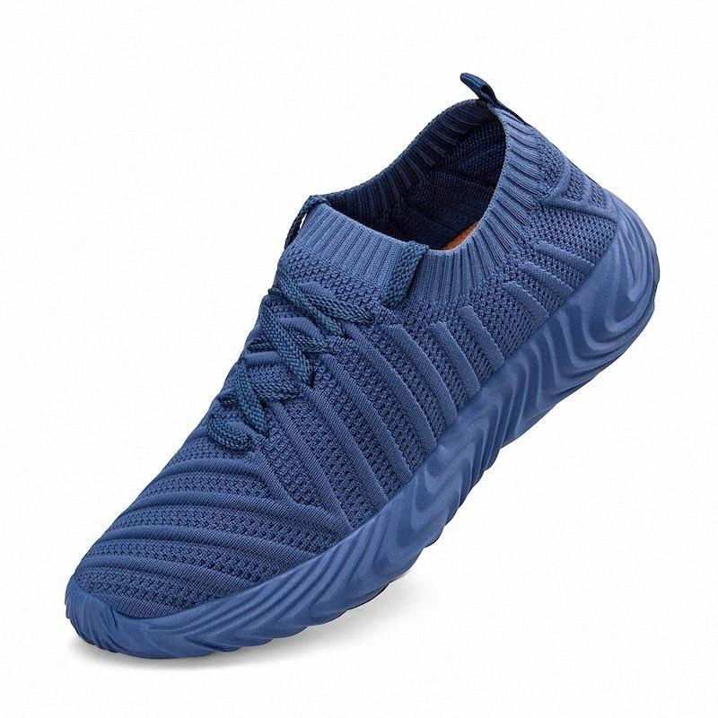 Outdoor nuovi uomini donna traspirante scarpe da jogging Walking Shoes leggero e comodo Sport Sneakers 45J1 # Esecuzione