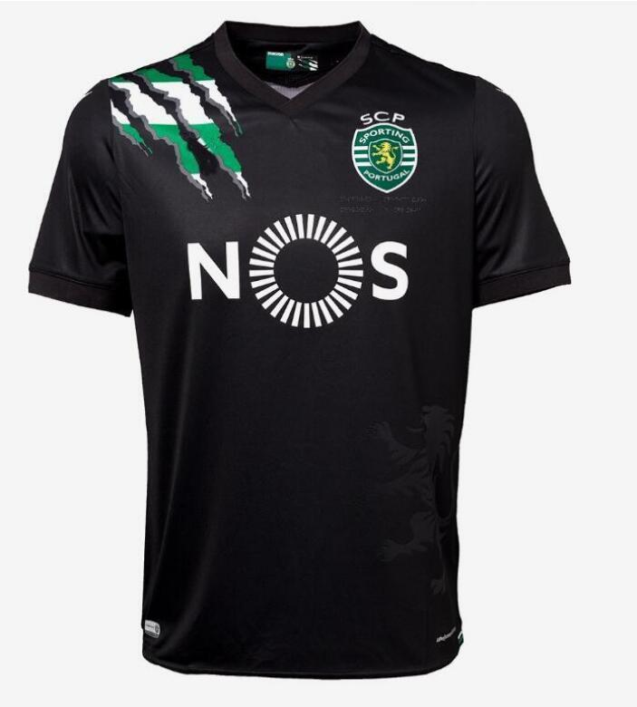 2020 2021 Novos T-shirt Sporting T-shirts Personalizar Sporting Lisboa Camisa Marcos Acuna Sebastian Coates Camiseta de Futbol camisetas LJ200827