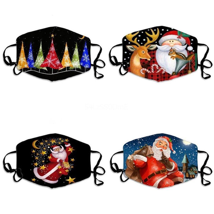 Hohe Non Woven Qualität Maske Earloop Designer Printed Gesichtsmasken Gift 1 1Pcs # 551