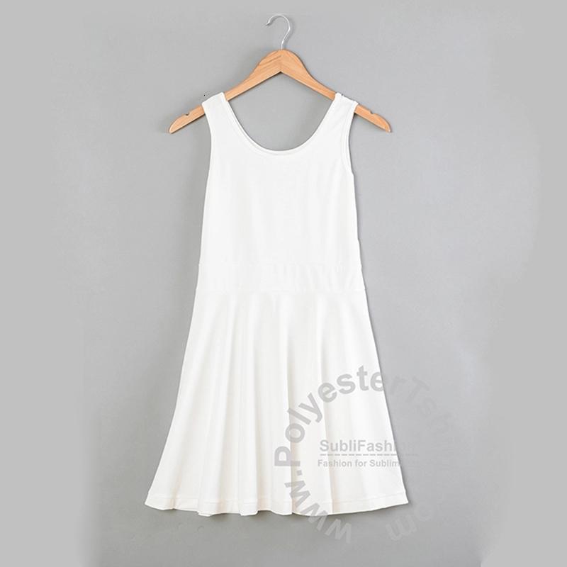 İyi fiyat ile Yüksek Kalite Tasarımınızın Elbise Süblimasyon Boş DIY Kadın Elbise